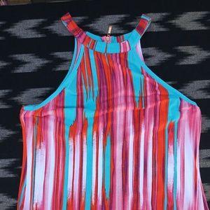 TART high neck tank dress